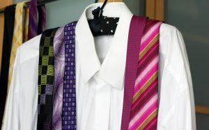 Hemd mit Krawatten